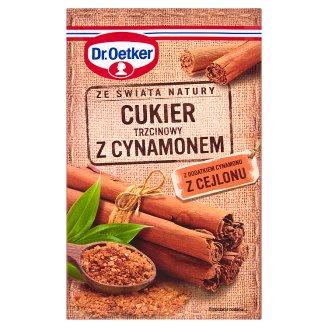 Dr. Oetker Ze świata natury Cukier trzcinowy z cynamonem 15 g