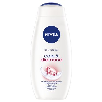 NIVEA Care & Diamond Pielęgnujący żel pod prysznic 500 ml