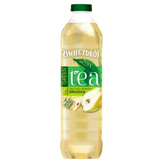 Żywiec Zdrój Green Tea Zielona herbata & Gruszka Napój niegazowany 1,5 l