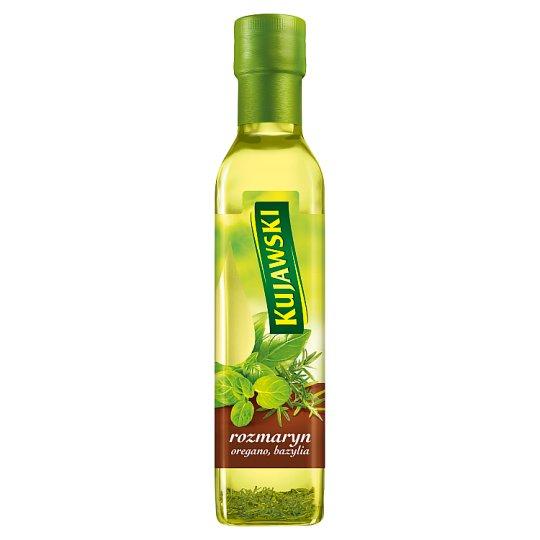Kujawski Rosemary Oregano Basil Rapeseed Oil 250 ml