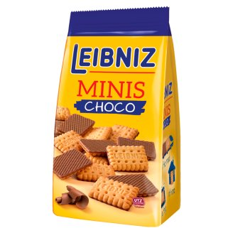 Leibniz Minis Choco Herbatniki w czekoladzie mlecznej 100 g