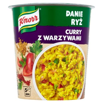 Knorr Instant Dish Rice Curry with Vegetables 87 g