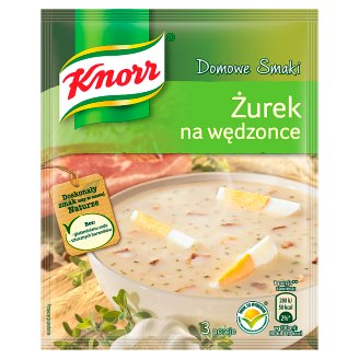 Knorr Domowe Smaki Soup from Fermented Rye Flour with Smoked Bacon 39 g