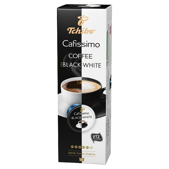 Tchibo Cafissimo For Black´n White Ground Coffee Capsules 75 g (10 Pieces)