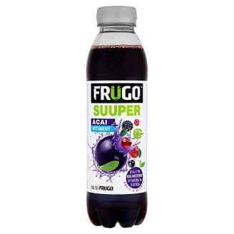 Frugo Suuper Acai + witaminy Napój wieloowocowy niegazowany 500 ml