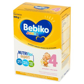 Bebiko Junior 4 Powdered Milk for Children after 2 Years Onwards 800 g