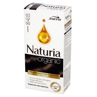 Joanna Naturia Organic Farba do włosów 342 kawowy
