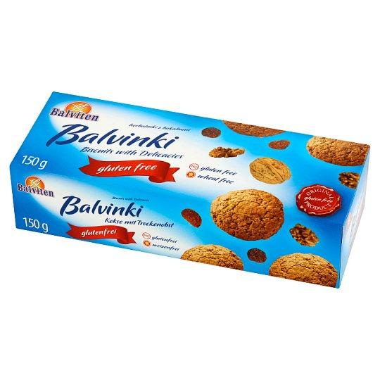 Balviten Balvinki Gluten Free Biscuits with Delicacies 150 g