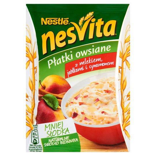 Nesvita Oatmeal with Milk Apples and Cinnamon 50 g