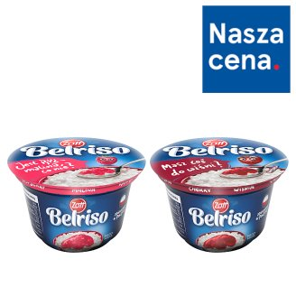 Zott Belriso Milk Dessert with Rice and Raspberry Sauce 200 g