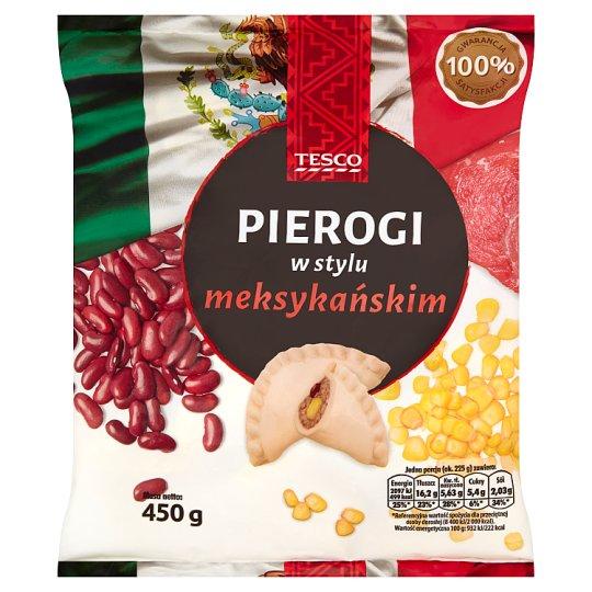 Tesco Pierogi w stylu meksykańskim 450 g