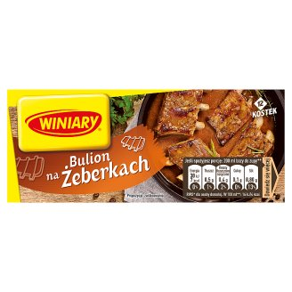 Winiary Spare Ribs Stock Cubes 120 g (12 Cubes)