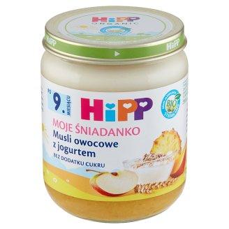 HiPP BIO Moje Śniadanko Fruits Muesli with Yoghurt after 9. Months Onwards 160 g