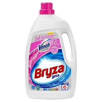 Bryza Lanza Vanish Power Gel 2in1 for Colour Washing Gel + Stain Remover 2.97 L (45 Washes)