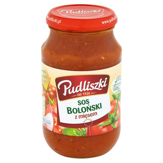 Pudliszki Bolognese Sauce with Meat 450 g
