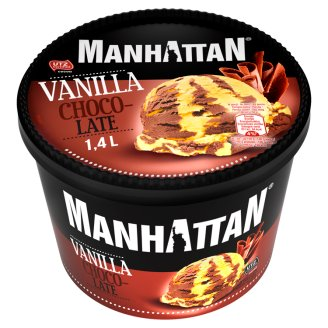 Manhattan Classic Vanilla Chocolate Ice Cream 1.4 L