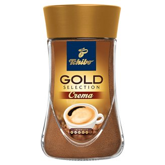 Tchibo Gold Selection Crema Instant Coffee 180 g