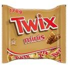 Twix Minis Ciasteczka oblane karmelem i mleczną czekoladą 170 g