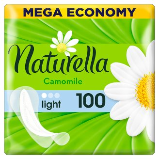 Naturella Panty Liners Light Camomile 100 Liners