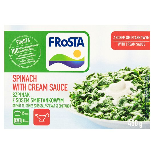 FRoSTA Spinach with Cream Sauce 450 g