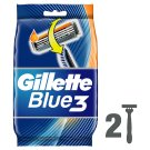 Gillette Blue3 SenseCare Men's Disposable Razors – 12 Pack