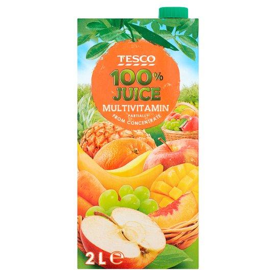 Tesco Multivitamin Sok z owoców i marchwi 2 l