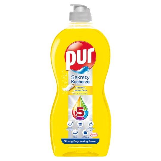 Pur Sekrety Kucharza Lemon Extra Płyn do mycia naczyń 450 ml