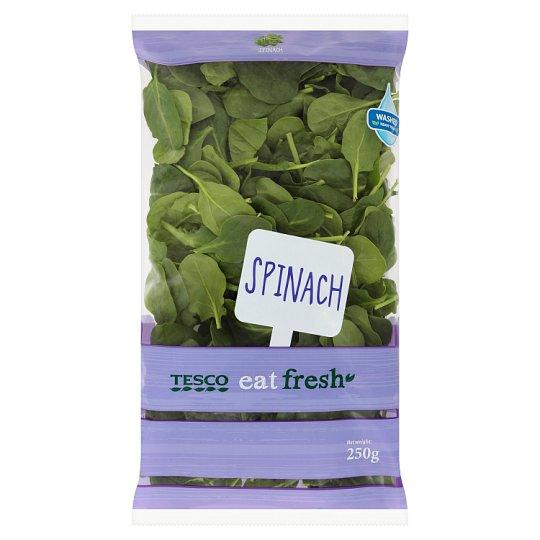 Tesco Spinach 250 g