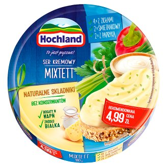 Hochland Mixtett Cream Cheese in Portions 180 g