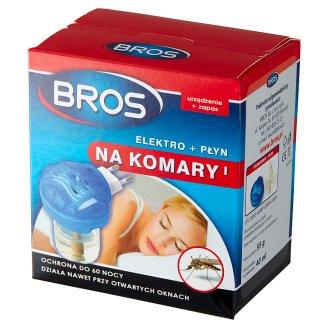 Bros Elektro + płyn na komary 40 ml