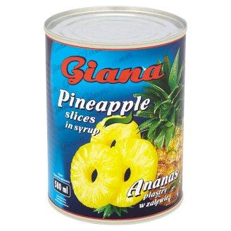 Giana Ananas plastry w zalewie 565 g