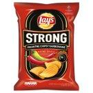Lay's Strong Pikantne chipsy karbowane o smaku ostre chilli 225 g