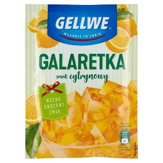 Gellwe Lemon Flavoured Jelly 75 g