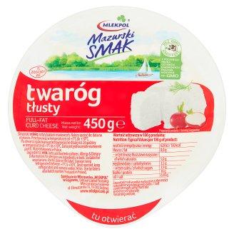 Mlekpol Mazurski Smak Full-Fat Curd Cheese 450 g