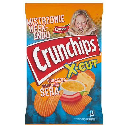 Crunchips Uro Edycja Honey Beef Flavour Potato Chips 140 g