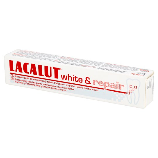 Lacalut White & repair Pasta do zębów 75 ml