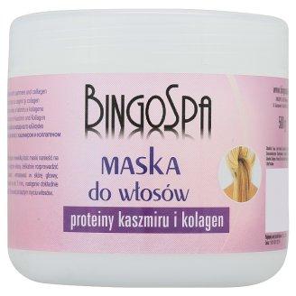 BingoSpa Maska do włosów proteiny kaszmiru i kolagen 500 g