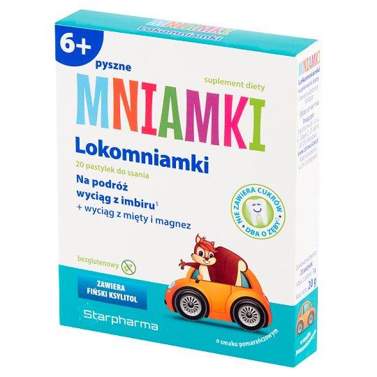 Starpharma Mniamki 6+ Orange Flavoured Lokomniamki Dietary Supplement 20 g (20 Pieces)