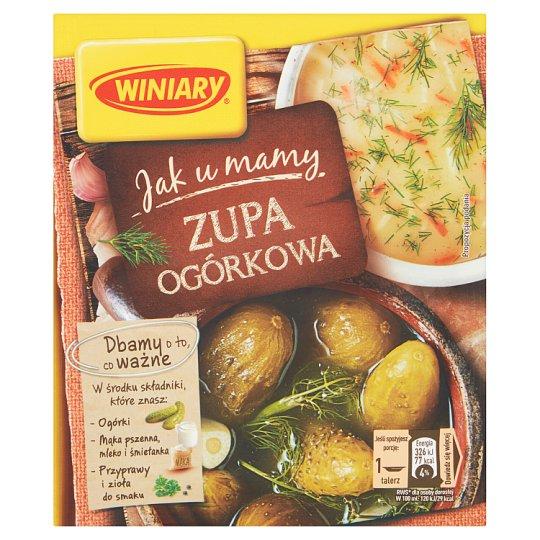 Winiary Jak u Mamy Cucumber Soup 42 g
