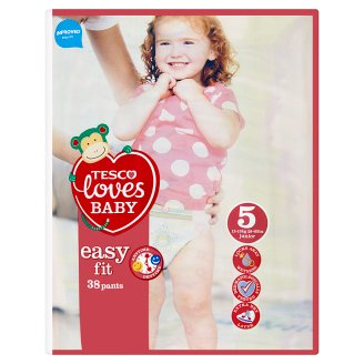 Tesco Loves Baby Easy Fit 5 Junior 12-18 kg Pants 36 Pieces