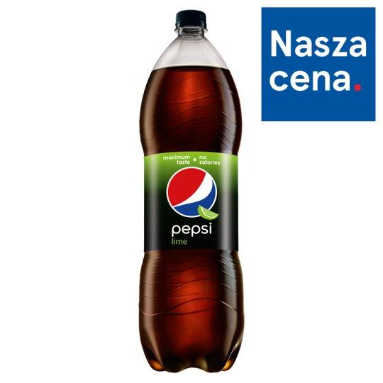 Pepsi Lime Napój gazowany 2 l