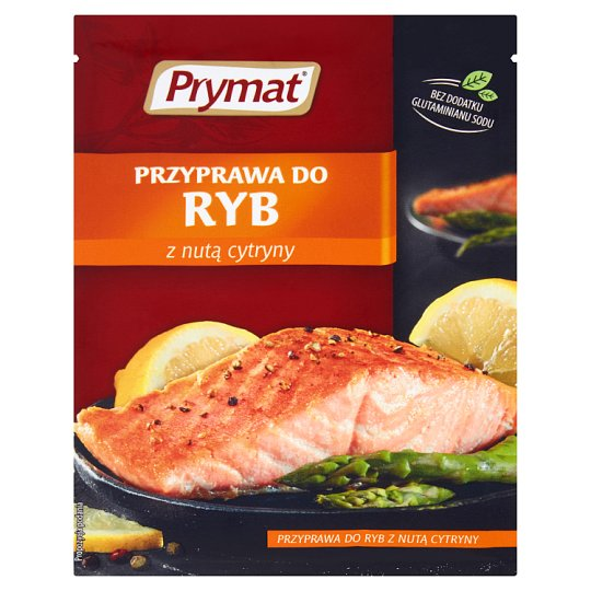 Prymat Fish Seasoning with Lemon 16 g