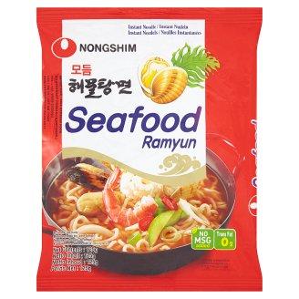 Nongshim Seafood Azjatyckie danie z makaronu pszennego z owocami morza 125 g