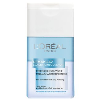 L'Oreal Paris Eye and Lips Make-up Remover Mild Lotion 125 ml