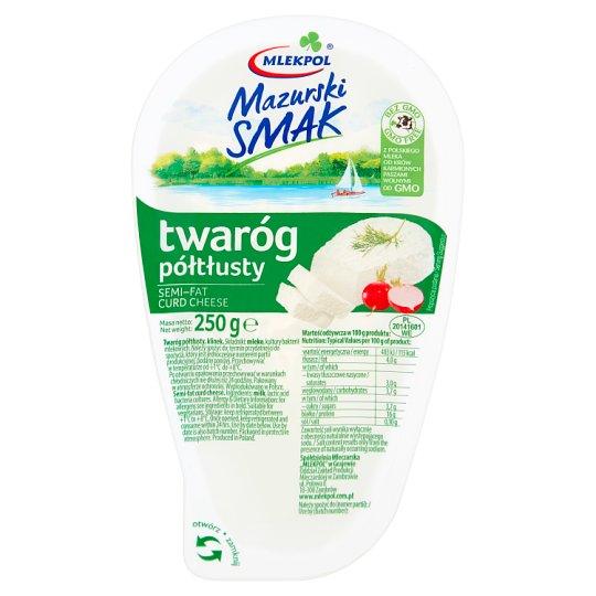 Mlekpol Mazurski Smak Semi Fat Curd Cheese 250 g