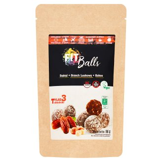 Fit Balls Hazelnut Coconut Pasta with Dry Date Fruit 96 g