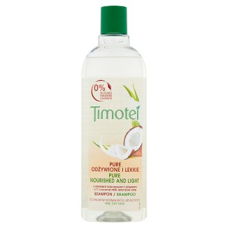 Timotei Pure Nourished and Light Shampoo 400 ml