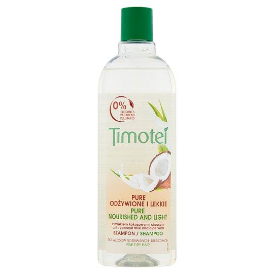 Timotei Pure Nourished and Light Shampoo 400 ml
