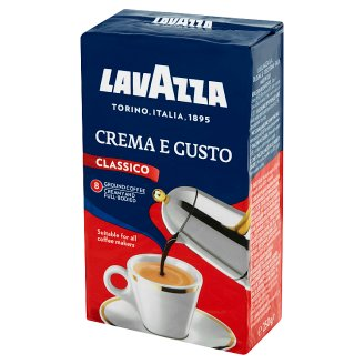 Lavazza Crema E Gusto Roasted Ground Coffee Blend 250 g