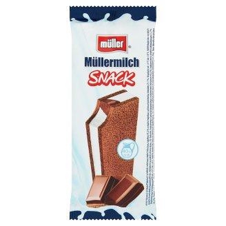Müller Müllermilch Snack Batonik z nadzieniem o smaku czekoladowym 29 g